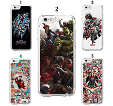 Marvel Avengers Superhero Hard Case For iPhone 5 6 7 8 X XS XR SE 11 12 Mini Pro