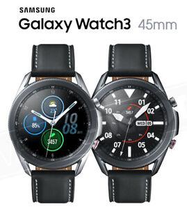 "Samsung Galaxy Watch3 2020 BT + WI-FI + GPS (NO LTE) 45mm 1.4"" Stainless Steel"