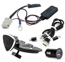 Bluetooth adaptador aux Audi VW Concert Chorus RCD RNS MFD cable cargador soporte set