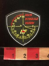 Advertising Patch HF DELTA INTEGRAL PASSION Speedometer Logo 872