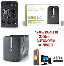 UPS / Gruppo di continuità 2000VA (1200W) con LCD - Line Interactive