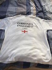 T Shirt 2001/02  celebrating ENGLAND vs Germany 5-1 and Michael Owen HATTRICK