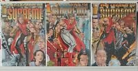 The Legend of Supreme 1 2 3 Complete Set Series Run Lot 1-3 VF/NM