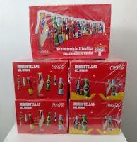 Coca Cola Aluminum Mini Bottles 5 Sealed Box x 25 Bottles - World Cup 2014