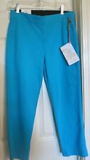 Women's MiracleBody Crop/Capri Pants  *NEW WITH TAGS* Cotton Blend-Blue Size 4