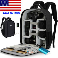 D10 Large Professional Camera Backpack Bag For Canon Nikon Sony Pentax Leica SLR