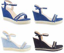Zapatos de tacón de mujer plataformas sin marca