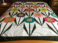 Queen Patchwork Quilt top #0432