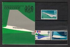 GB 1969 Concorde German Presentation Pack