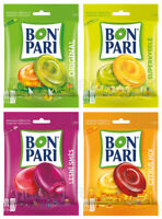 4 x BON PARI ORIGINAL + CITRUS MIX + SUPER SOUR + FOREST FRUIT Flavor Candy