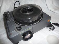 Proyector De Diapositivas Kodak Ektapro 7000 150mm Lente Kodak carrusel de diapositivas de 80 + CD Info