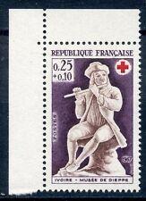 STAMP / TIMBRE FRANCE NEUF  N° 1540 ** JOUEURS DE FLUTE / ISSUS DE CARNET