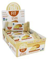 Bhu Fit Vegan Protein Bar, Peanut Butter + White Chocolate - 12 Bars
