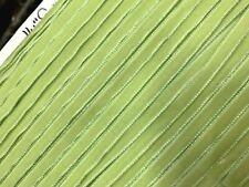 "VINTAGE 1/4"" VELVET ribbon 3yds LIME Made in England"
