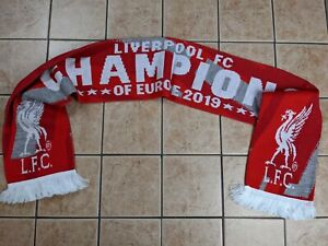 Liverpool Champions of Europe 2019 Scarf