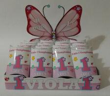 base + 20 scatoline porta confetti festa compleanno sweet table fiori farfalle