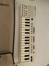 More details for casio pt 20 electronic musical instrument vintage 1980's