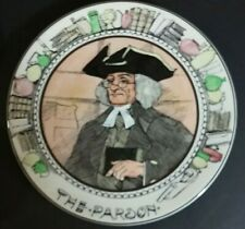 "Royal Doulton 10 1/2"" Collector's Plate The Parson"