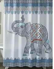 better homes & garden bohemian global elephant shower curtain