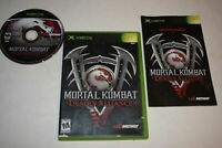 Mortal Kombat Deadly Alliance Microsoft Xbox Video Game Complete