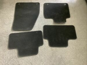 SET OF 4 FABRIC FOOTWELL MATS FOR VOLVO XC40 AUTOMATIC 2021