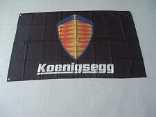 New Flag for koenigsegg Car Racing Banner Flags 3x5ft 90x150cm