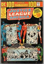 DC 100 Page Super Spectacular # 17 Justice League of America Bronzeage ComicBook