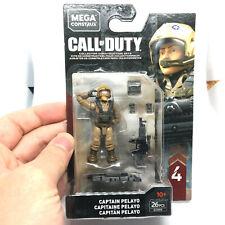 Mega Construx CAPTAIN PELAYO Call Of Duty Military Toy GCN88 Series 4