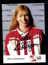 Silke Lichtenhagen Autogrammkarte Original Signiert Leichtathletik + A 152147