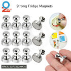 24pcs Strong Fridge Magnets Refrigerator Magnetic Crafts Whiteboard Push Pins