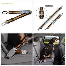 Kurgo Seatbelt Tether for Dogs   Universal Car Seat Belt for Pets   Adjustable L