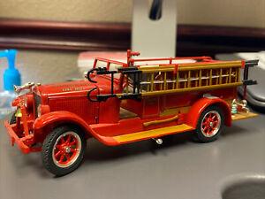 Signature Models 1928 Reo Fire Engine Truck Diecast 1/32 Pleasant Plains VFD