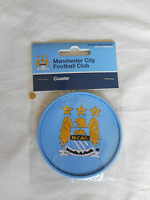 Man City Coaster - Manchester City Rubber Coaster - Ideal Football Gift