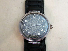 P.MOSER Swiss antique amazing men's mechanical wristwatch