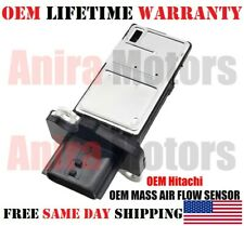 OEM Hitachi  MASS AIR FLOW SENSOR FOR 2003-2004/2006-2012 Nissan Altima 2.5L l4