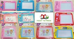 New Magic Writer Magnetic Easy Writing Drawing Slate Board Color Doodle Pad Kids
