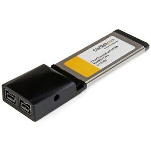Startech 2 Port ExpressCard FireWire Adapter Card