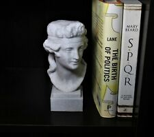 """Dionysus/Bacchus Bust; 7"""" Statue of the Greek and Roman God of Wine"""