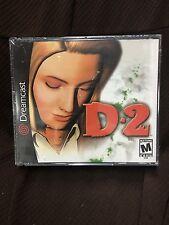 D2 SUPER RARE! US VERSION! NEW & SEALED! (Sega Dreamcast, 2000)
