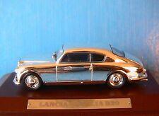 LANCIA AURELIA B20 1951 CHROME IXO 1/43 WOODEN BASE