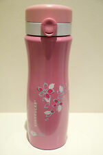 2014 Starbucks 12oz Cherry Metallic Pink Stainless Steel Tumbler with Leak-Pro