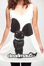 Deadmau5 Electronica DJ Dance Party Music WOMEN Tank TOP T-SHIRT DRESS Size M L