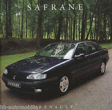 Renault Safrane Prospekt 7 93 NL brochure 1993 Auto PKWs Autoprospekt Frankreich