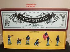 Union Infantry 8852 Britains American Civil War Toy Soldier Figure Set