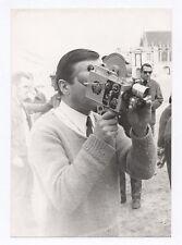 PHOTO Photographe photographié Autoportrait Caméra Appareil Caméraman 1960