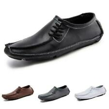 Mens Slip on Pumps Breathable Outdoor Walking Comfy 47 Driving Moccasins Shoes L