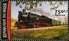 Rügen Narrow Gauge Railway Germany DRB Class 99 Steam Train Locomotive Stamp