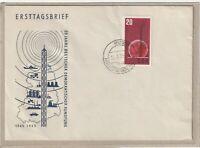 """Ersttagsbrief - """"20 Jahre Deutscher Demokratischer Rundfunk"""" Marke/Stempel 1965"""