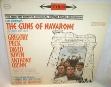 The Guns of Navarone Sound Track Vinyl Record