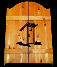"New Custom Outhouse Saloon Bathroom Restroom Cafe Swinging Doors 24-36"" Western"